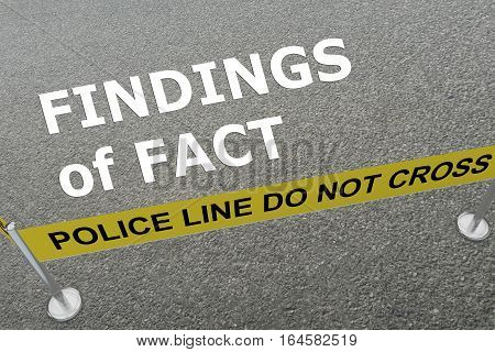 Findings Of Fact - Criminal Concept