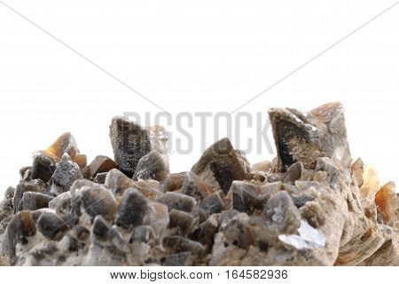 Gypsum Mineral Isolated