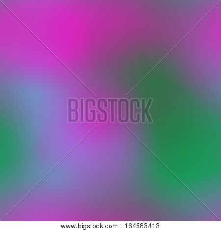 Smoky hazy defocused abstract green and bright pink background texture