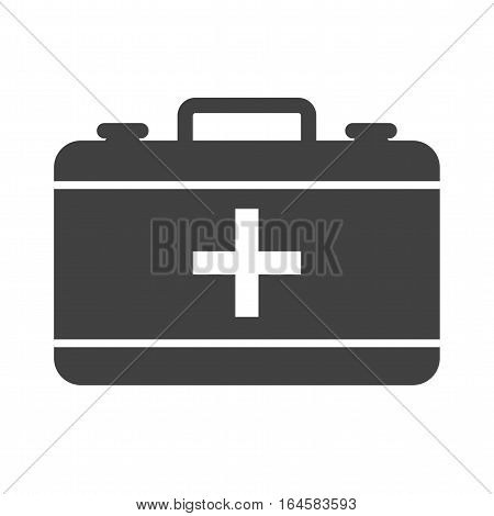 First, emergency, aid icon vector image. Can also be used for firefighting. Suitable for web apps, mobile apps and print media.