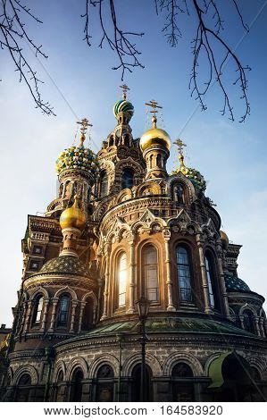 Church Savior On Spilled Blood In Petersburg