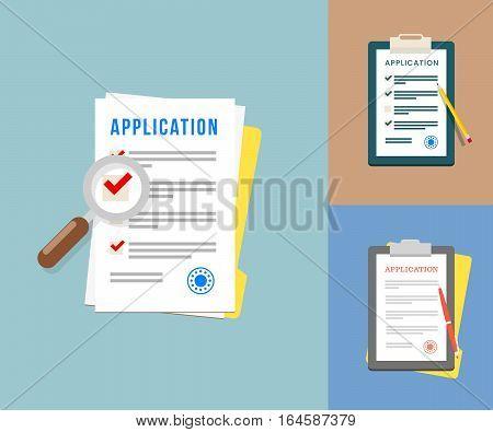 Vector Application Forms