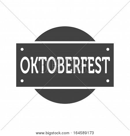 Oktoberfest, banner, celebration icon vector image. Can also be used for oktoberfest.