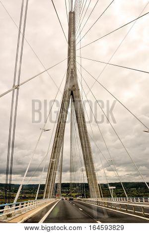 Le Pont De Normandie Normandy Bridge