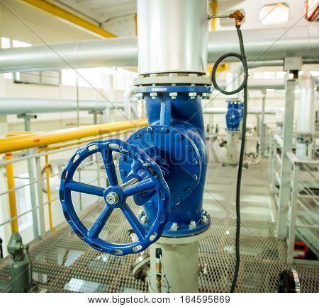 Modern boiler room equipment- high power boiler burner