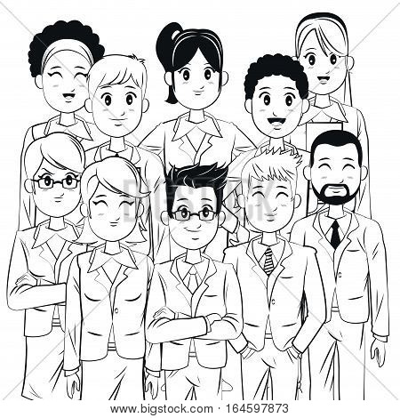group team work business corporate vector illsutration eps 10