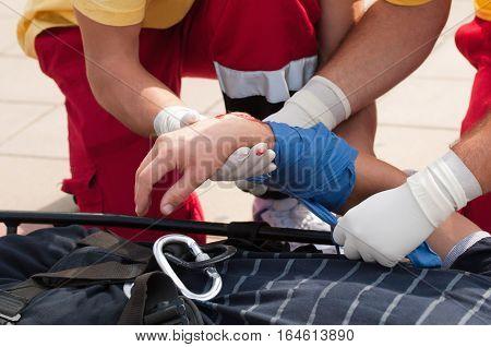Paramedics In Action