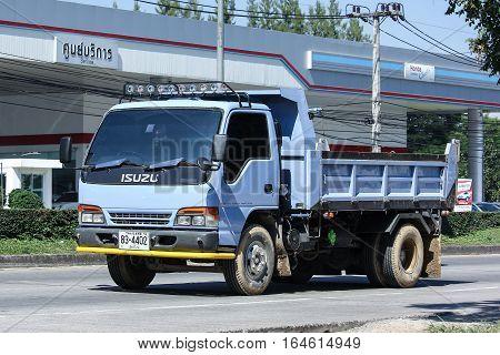 Private Old Isuzu Dump Truck.