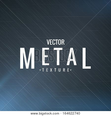 Illustration of metal texture. Vector graphics. The metallic effect design. Aluminum coating.