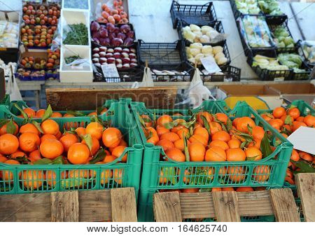 Oranges With Natural Treatments Without Chemical Additives And O