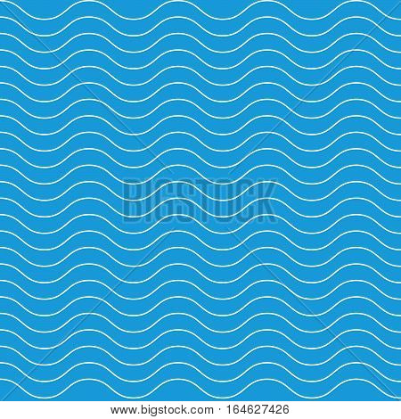 Wave lines pattern background. Vector Wave lines pattern background