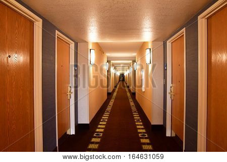 Scottsdale USA - july 7 2016 : hall in an hotel in the city center