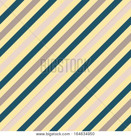 Seamless geometric pattern. Stripy texture for neck tie. Diagonal contrast strips on background. Gray, blue colors. Vector