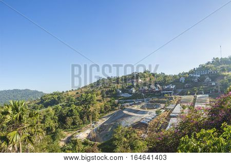 view khao-kho natural lanscape in Phetchabun province