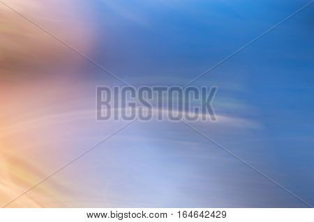 Blurred Abstract Background. Outer Space Planet.
