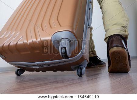 Wheeling Big Baggage
