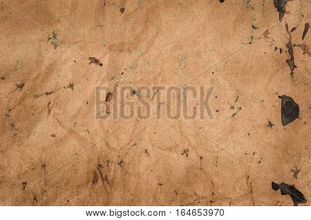 spotted vintage background stained  ripped and grunge