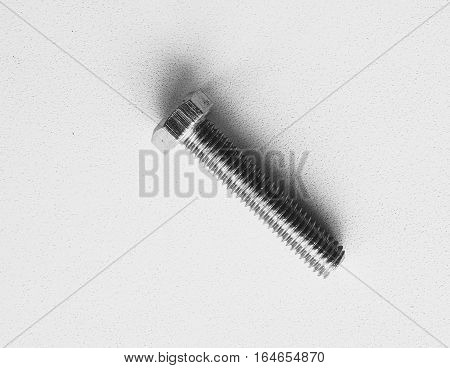 Tools for mounting repairs screw thread material metal monochrome