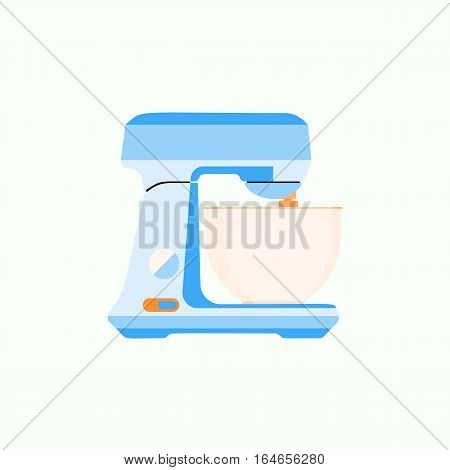 Juice kitchen blender machine easy to make drinks, kitchen blender healthy food mix. Kitchen blender shake cooking. Equipment in flat style. Graphic illustration