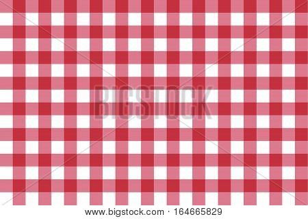 Classic checkerboard Chequer seamless pattern for textile, paper print. Vector illustration
