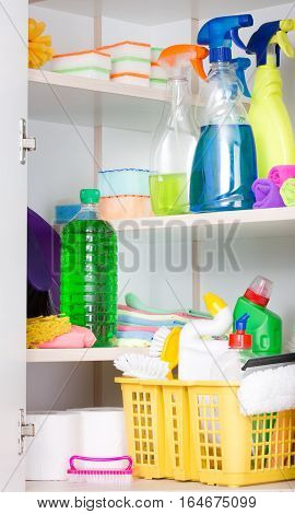Cleaning Supplies Storage