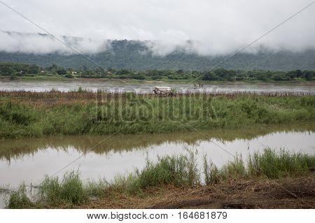Thailand Isan Chiang Khan Mekong River
