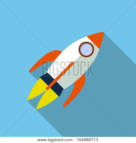 Rocket icon, design element for mobile and web applications, eps 10