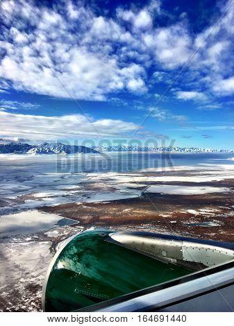 Aerial Of Salt Lake City