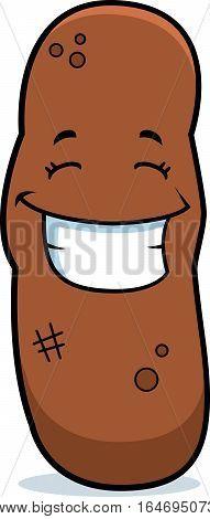 Cartoon Turd Smiling