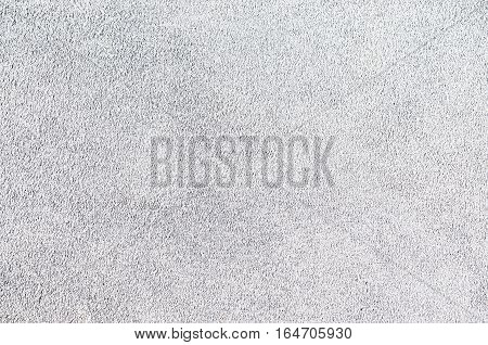 Light Grey Suede Soft Leather As Texture Background. Close Up Leather Texture