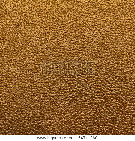 Deep yellow leather texture or leather background for design with copy space for text or image.