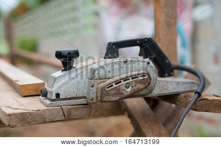 close up electric planer  in Phitsanulok, Thailand