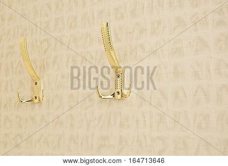 coat hooks metal hooks on the wall