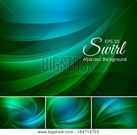 Swirl abstract background series. Suitable for your design element and web background