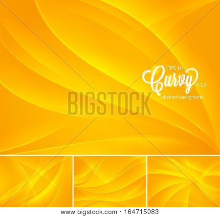 Curvy abstract background. Suitable for your design element and web background