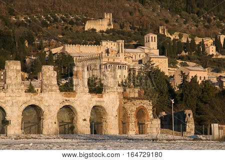 Gubbio is a fantastic medieval city in the umbria region, Italy