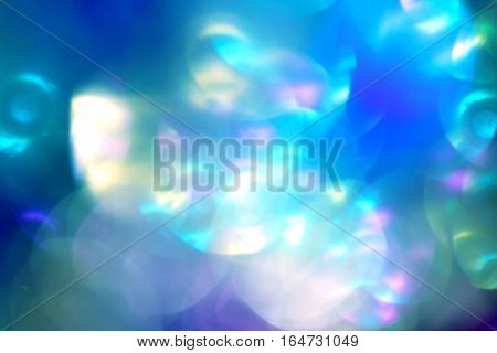 Vintage Magic Background With Colorful Bokeh.
