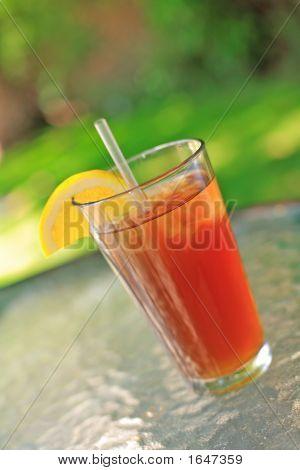 Iced Tea With Lemon 1
