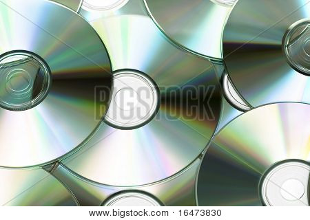 Cd or DVD romes for background