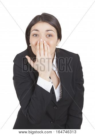 Businesswoman Surprised