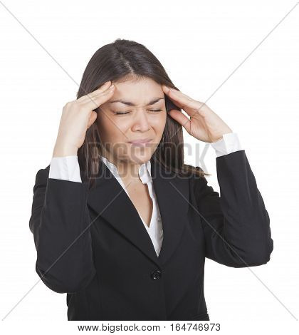 Woman With Painful Headache