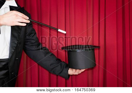 Magic Trick On Stage