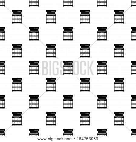 Calculator pattern. Simple illustration of calculator vector pattern for web