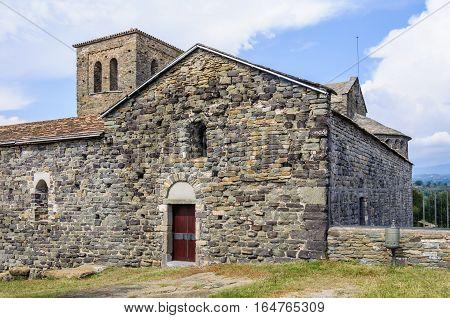 Sant Pere De Casseres Monastery In Catalonia, Spain