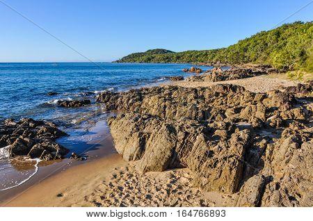 Beach In Town Of 1770, Queensland, Australia