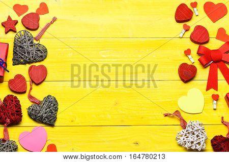 Decorative Colorful Valentine Background