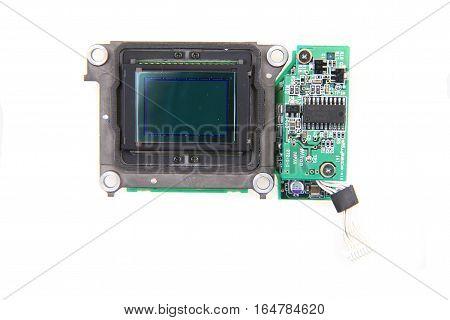 Cmos Chip From Camera