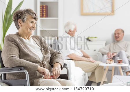 Elders Spending Time Together