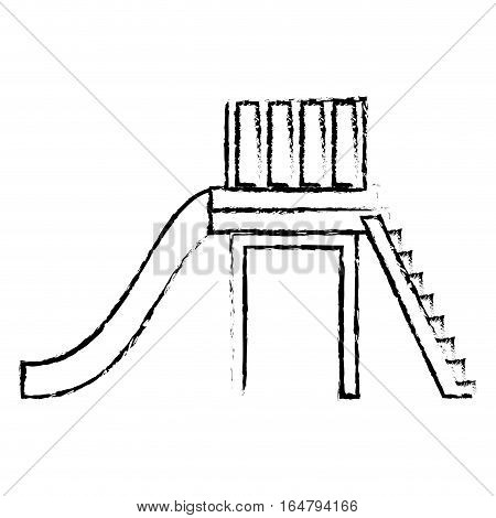 slide playground icon image vector illustration design