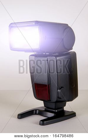 Black Photo Camera Flash